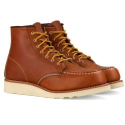 Zapatos de Red Wing Moc Clásico 3374