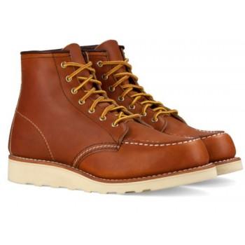 Zapatos de Red Wing Moc Clásico 3374