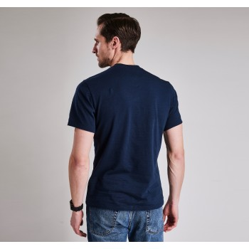 BARBOUR INCIDENTAL INCIDENTAL TEE SHIRT TEE Mallet