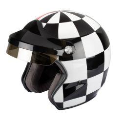 casco Jet Vintage casco ST520 Gran Premio Félix