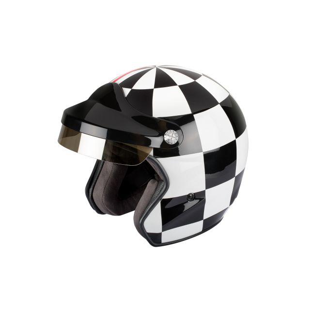 Casque jet vintage ST520 Grand Prix Felix helmet
