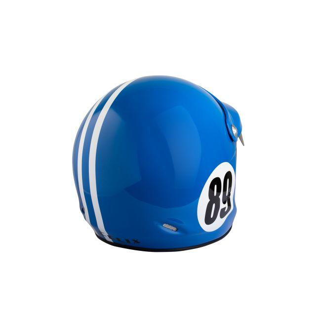 Casque jet vintage ST520 Monte Carlo bleu de france Felix helmet