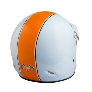 Casque jet vintage ST520 Gulf Le Mans Felix helmet