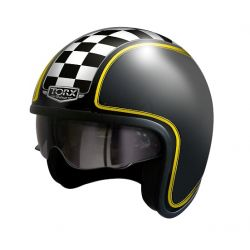 Casque jet HARRY FLAG RACER