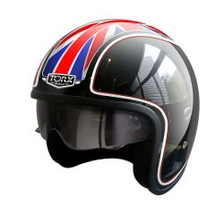 Casque jet HARRY FLAG UK