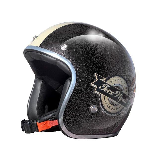 Motorcycle Helmet Jet Vintage Retro Cafe Racer Vintage Motors