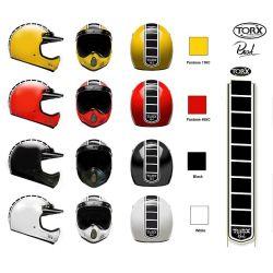 Casque cross Torx BRAD-LEGEND RACER Noir Mat