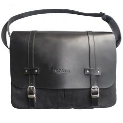 MESSENGER BAG FILE Textil / Leder-HELSTONS