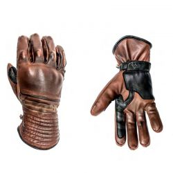 WINTER GLOVES MOTORCYCLE RIDER Leather-HELSTONS