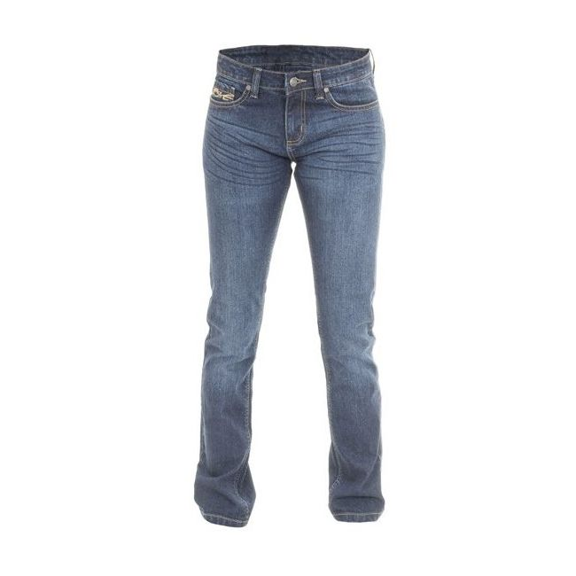 Pantalon RST Ladies Aramid Straight textile été bleu femme