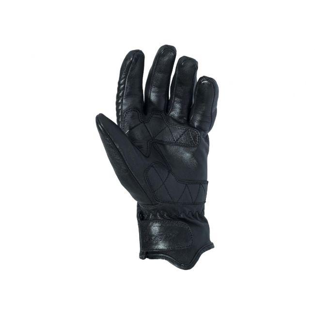 Gants RST Retro II CE cuir mi-saison noir homme