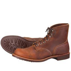 8111 Zapatos de Red Wing Iron Ranger de color marrón oscuro