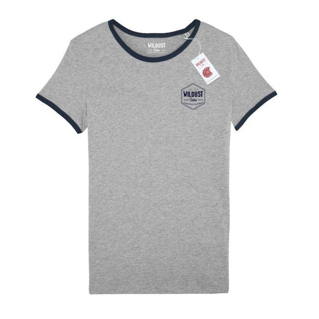 Tshirt Femme WILDUST - Rétro Marine