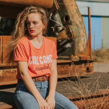 Tshirt Femme WILDUST - Girlgang