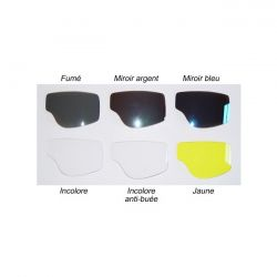 Vidrios del ojo T1, T2 y T3 - anteojos del cristal aviador Leon Jeantet