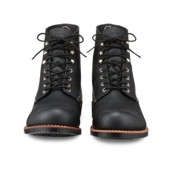 Red Wing Shoes Schwarz 8114 Eisen-Ranger