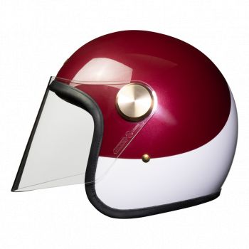 Casque Jet Epicurist Crimson Tide - HEDON