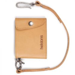 Portemonnaie Mini Wallet Leder + Spitze-Schwarz-Uhr-HELSTONS