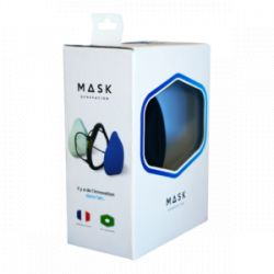 MASK SIROCCO SILVER - Le Mask Français