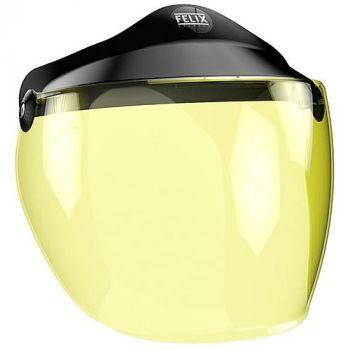Long Screen for helmet OPEN FACE ST520 - Yellow- FELIX
