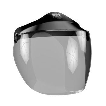 Long Screen for helmet OPEN FACE ST520 - Smoked Lightweight- FELIX