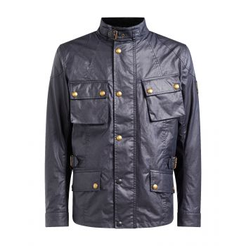 VESTE CROSBY2 TEC WAX BLACK-BELSTAFF
