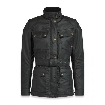 VESTE TRIALMASTER PRO LADY WAX6OZ BLACK-BELSTAFF
