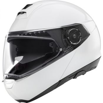CASQUE C4 PRO WOMEN ECE Glossy White-SCHUBERTH