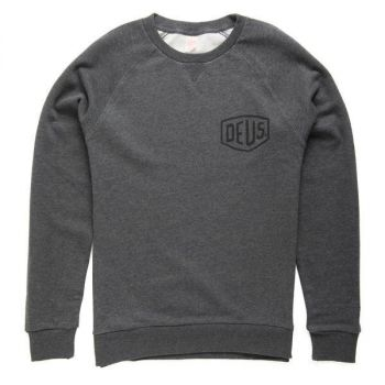 Sweat Deus ex Machina VENICE LA ADRESS CREW GREY MARL
