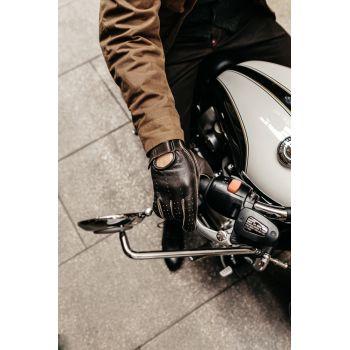 Luvas de Andrea Brown motociclista - vintage