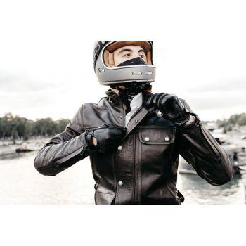 Luvas de Andrea motociclista - preto