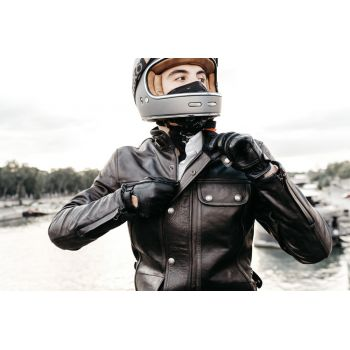 Andrea Biker's Gloves - Black
