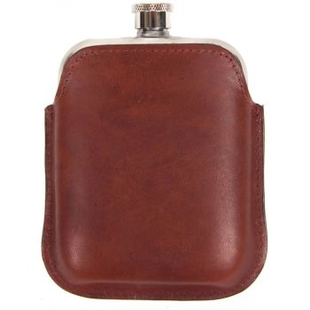 HIPFLASK LEATHER-BARBOUR