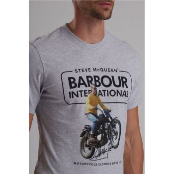 T-SHIRT SMQ COOLER TEE-BARBOUR