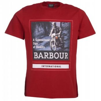 T-SHIRT INTERNATION GRAPHIC TEE-BARBOUR