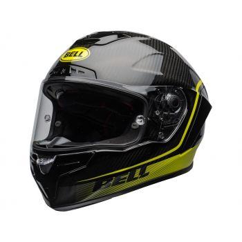 Casque BELL Race Star Flex DLX Velocity Matte/Gloss Black/Hi Viz