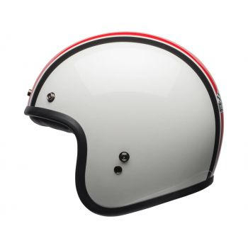 Bell Custom 500 Ace Café Stadium Gloss Silver / Red / Black