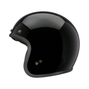 Helm Bell Custom 500 DLX Solid Black