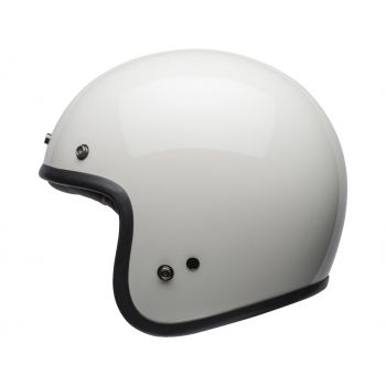 Casco BELL 500 DLX Solid White