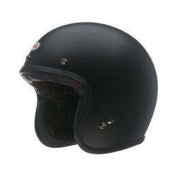 Helm BELL Custom 500 DLX Solid Black Mat