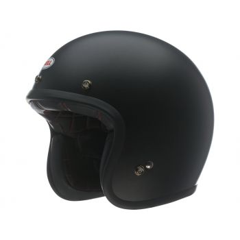 Helmet BELL Custom 500 DLX Solid Black Mat
