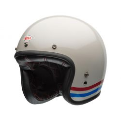 CASQUE CUSTOM 500 DLX STRIPES PEARL - BELL