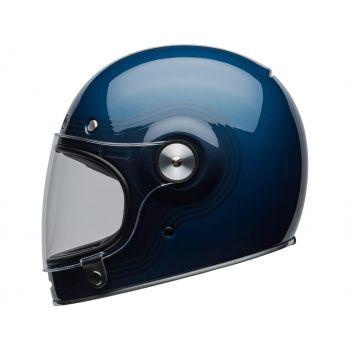 CASQUE BULLITT DLX FLOW GLOSS LIGHT BLUE/DARK BLUE - BELL