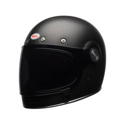 CASQUE BULLITT CARBON SOLID MATTE BLACK - BELL