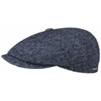 VIRGIN WOOL FLAT CAP HATTERAS-STETSON