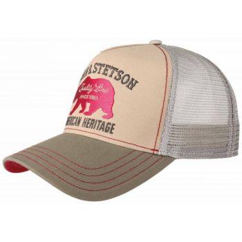CASQUETTE TRUCKER CAP BEAR-STETSON