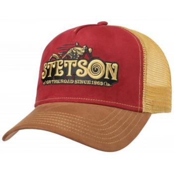 CASQUETTE TRUCKER CAP ON THE ROAD-STETSON
