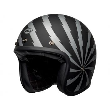 CASQUE CUSTOM 500 DLX SE VERTIGO BLACK - BELL
