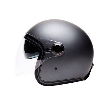 """Helmet Marko BOREAL Gray Matt strip """""""