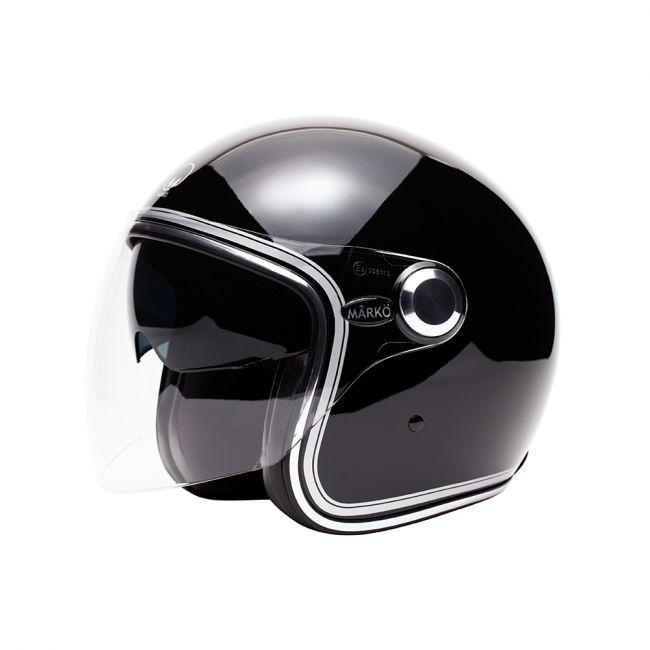 "Helmet Marko BOREAL Black gloss bands """